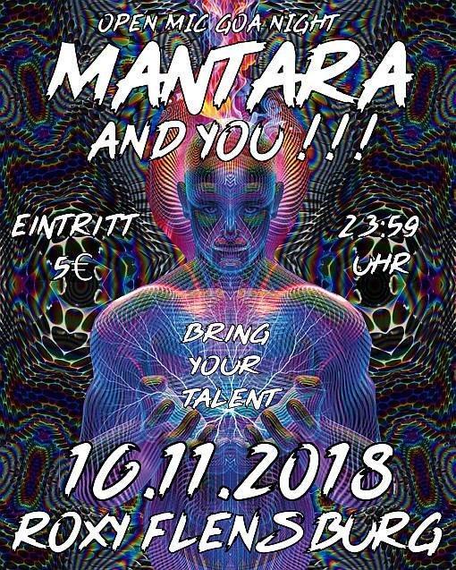 Mantara and you!!! – Open Mic Goa Night 16 Nov '18, 23:30