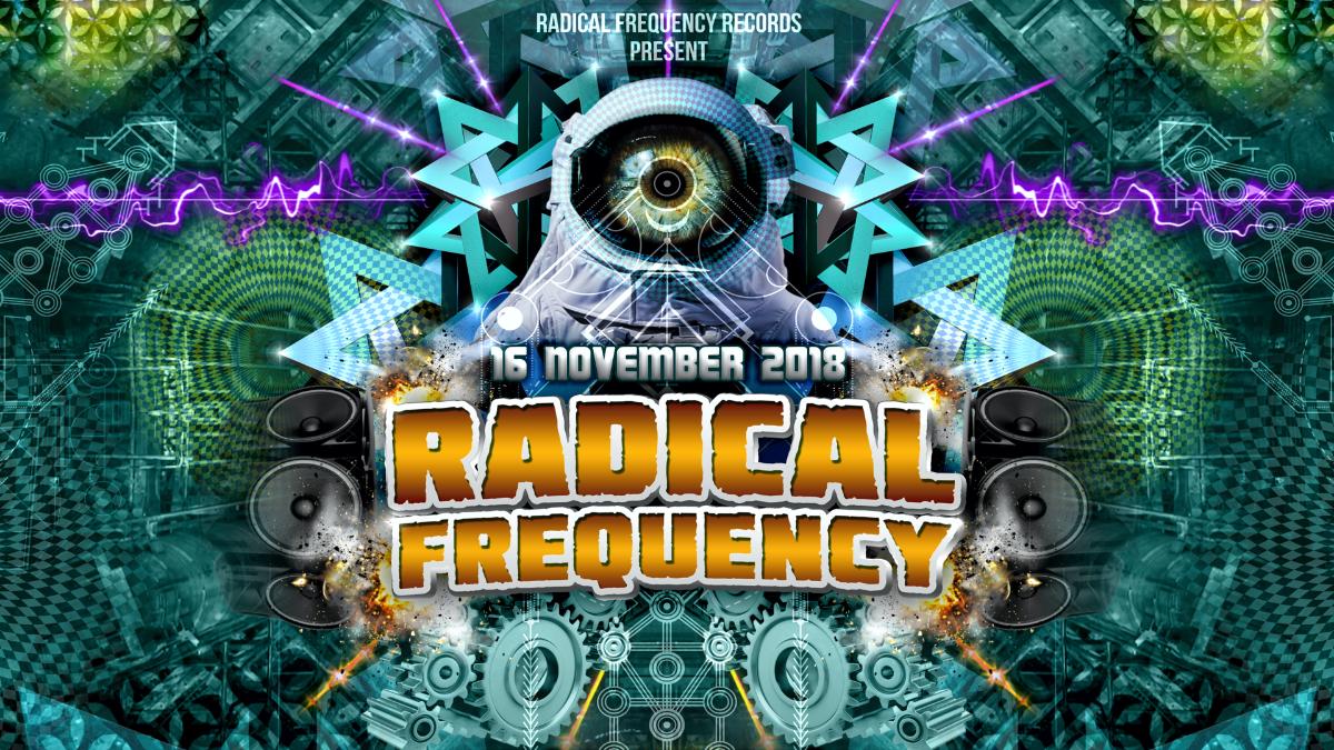Radical Frequency @ Sakog /w Pastor John K-Freq Selective Mood Naima and more! 16 Nov '18, 21:00