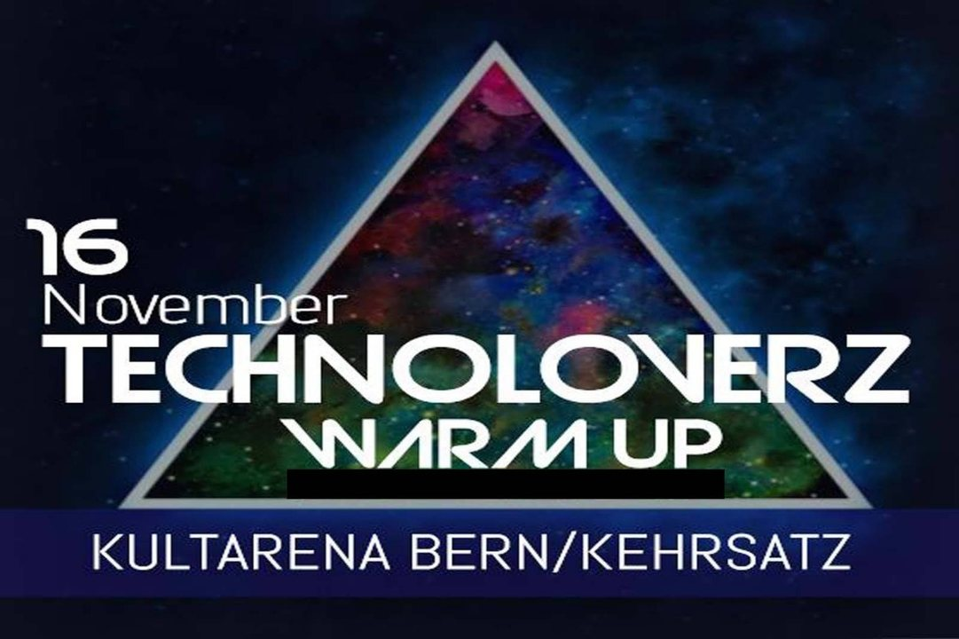 TechnoLoverZ - Techno WarmUp! 16 Nov '18, 21:00