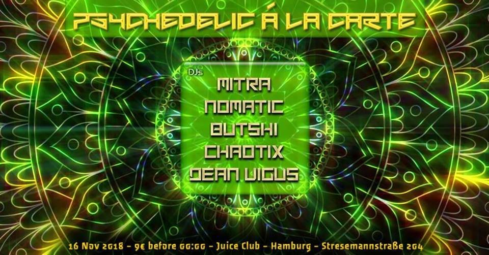 TNS - Psychedelic Á La Carte III 16 Nov '18, 23:00