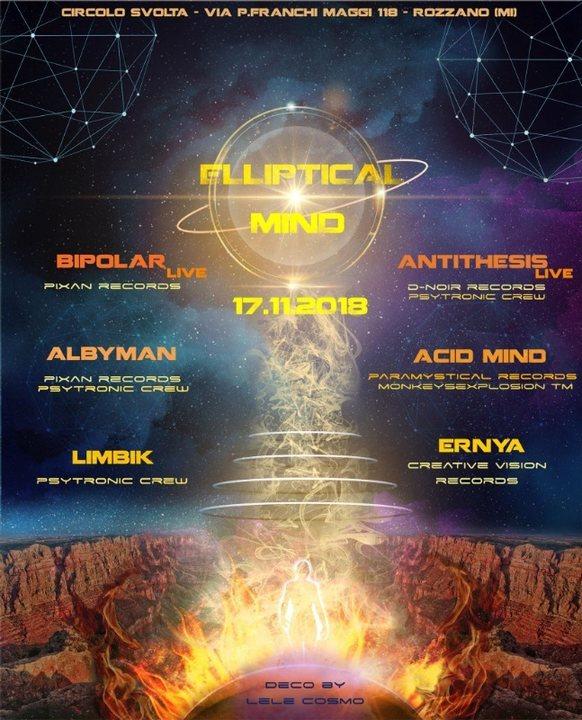 Elliptical Mind 17 Nov '18, 22:00