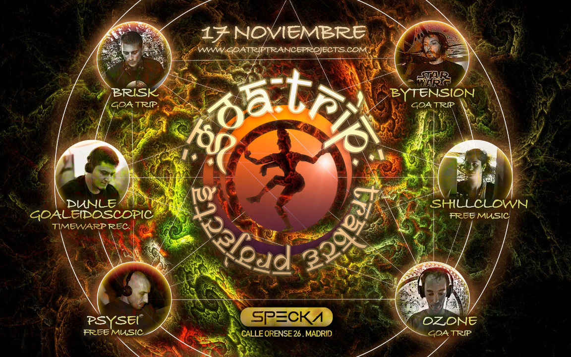 GOA TRIP - 17 Nov @ Specka club 17 Nov '18, 23:30