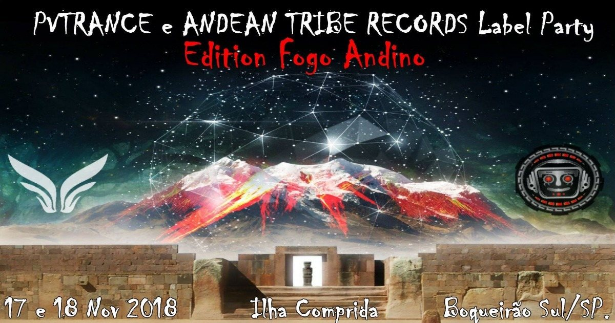 PVTrance & Andean Tribe Records Label Party 17 Nov '18, 22:00
