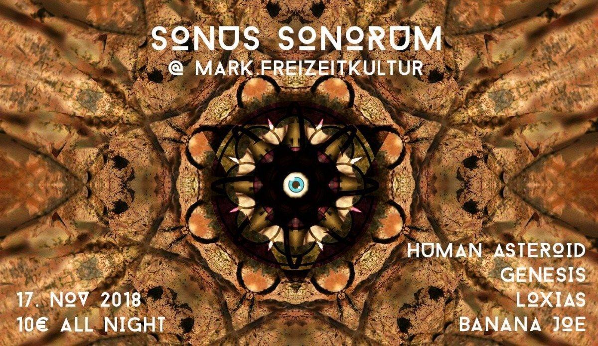 Sonus Sonorum Pres. Human Asteroid 17 Nov '18, 22:00