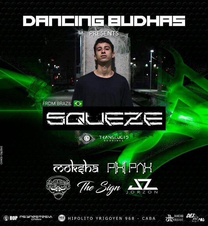 Dancing Budhas International 18 Nov '18, 23:30