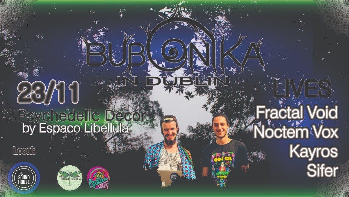 Bubonika In Dublin 23 Nov '18, 21:00