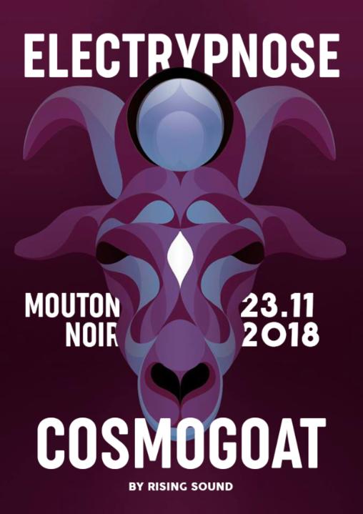 Cosmogoat #7 w/ Electrypnose 23 Nov '18, 22:00