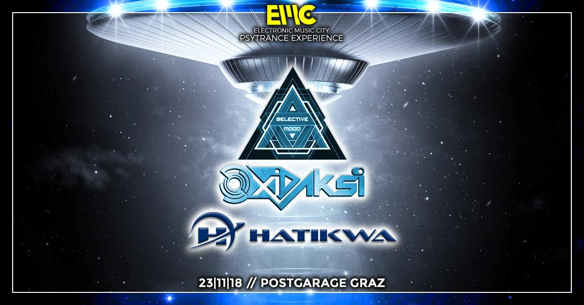 Psychedelic & Hitech Night with Oxidaksi / Hatikwa / Selective Mood by EMC 23 Nov '18, 23:00