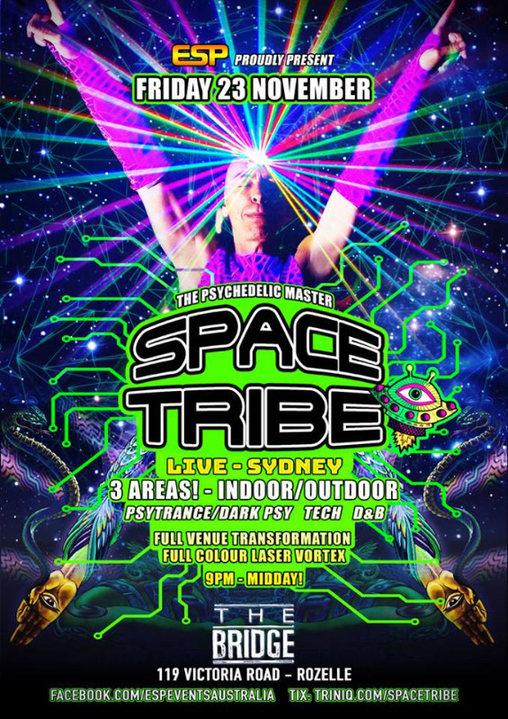 Space Tribe Live 23 Nov '18, 21:30