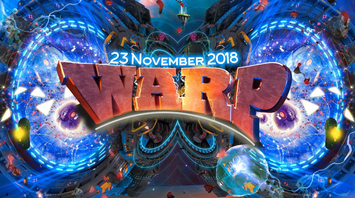 """Warp presents: """"Portal to Mars!"""" 23 Nov '18, 23:00"""