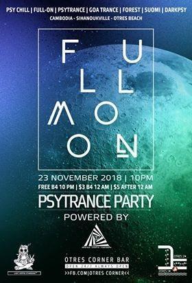 Full Moon Psy-Trance-Party 23 Nov '18, 22:00