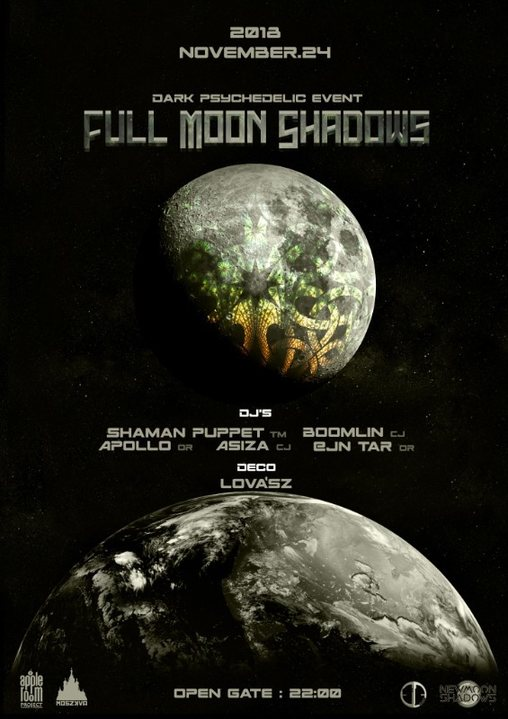 FullMoonShadows 24 Nov '18, 22:00
