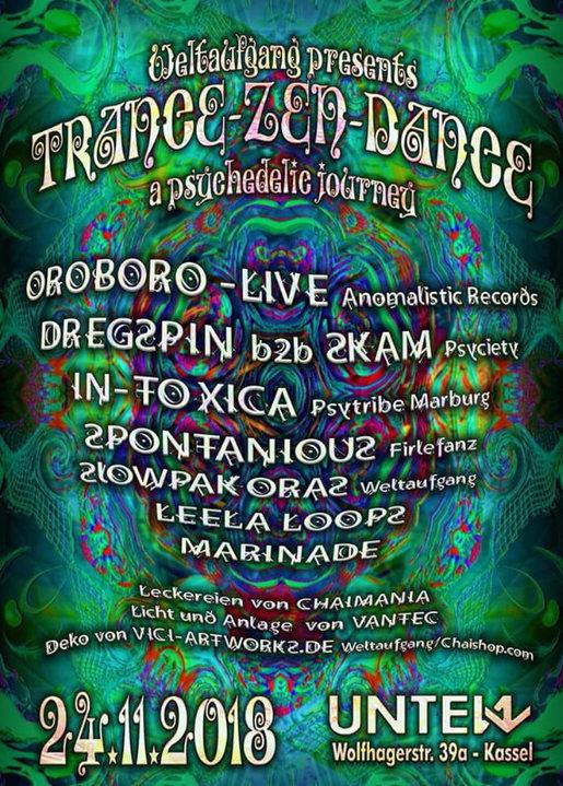 Trance-Zen-Dance 24 Nov '18, 23:00