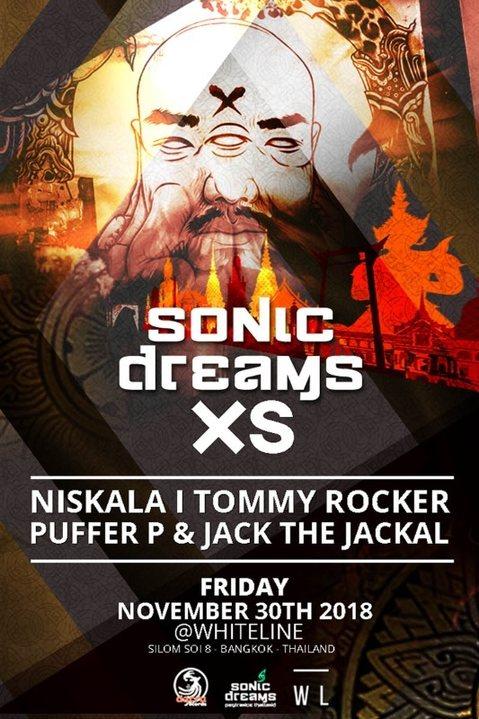 Sonic Dreams XS 30 Nov '18, 21:00