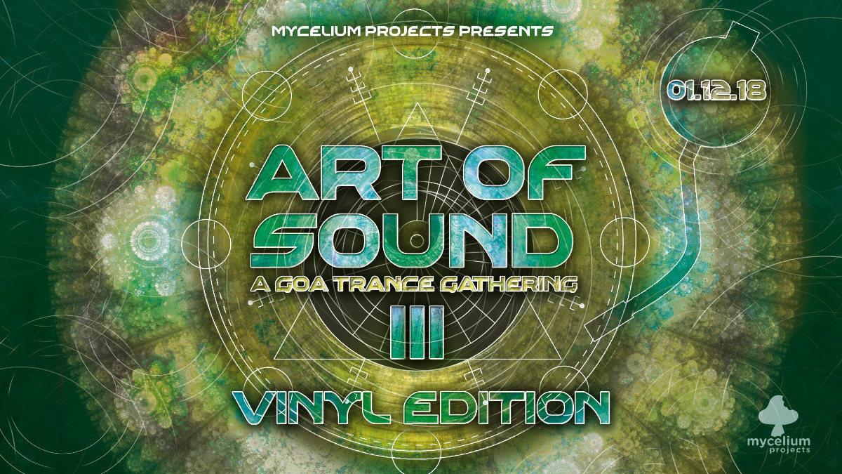 Art Of Sound III - Vinyl Edition - GANGGURU LIVE 1 Dec '18, 21:00