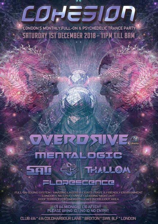 Cohesion PsyTrance Adventure 1 Dec '18, 23:00