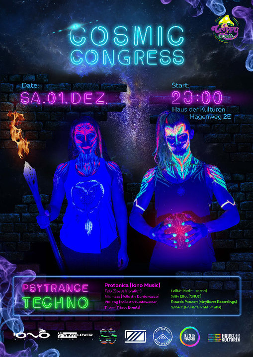 Cosmic Congress | with Protonica 1 Dec '18, 23:00