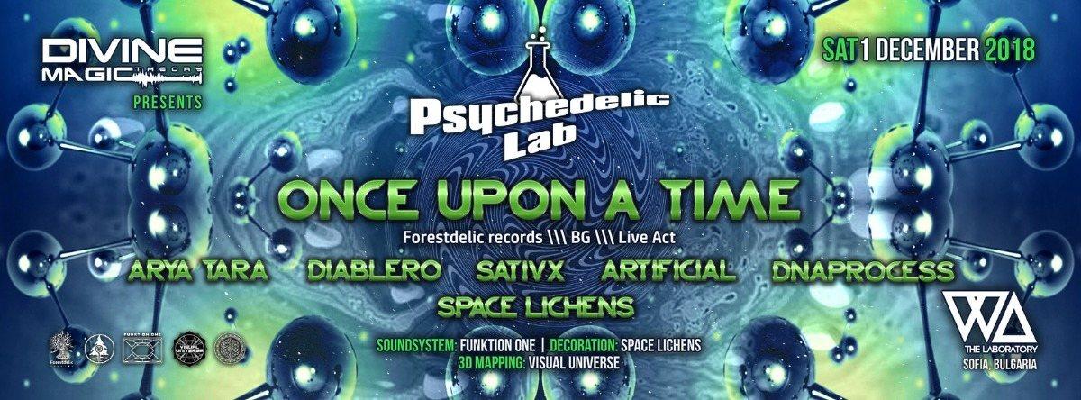 Psychedelic Lab 1 Dec '18, 22:00