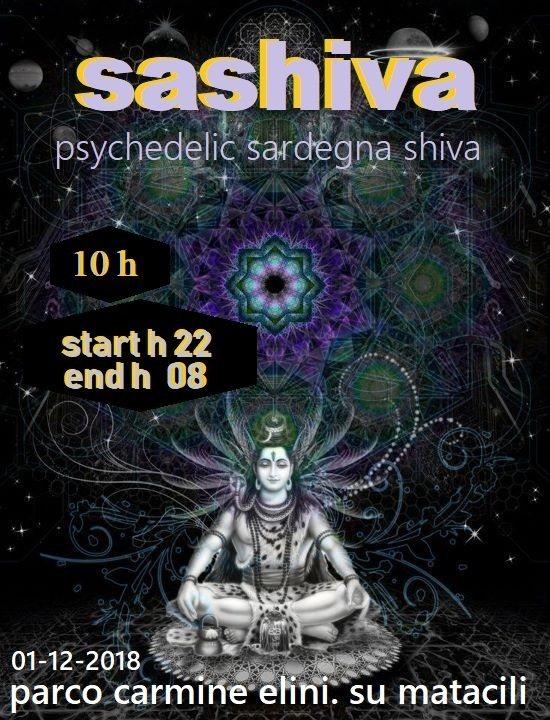 Sashiva Psychedelic 1 Dec '18, 20:00
