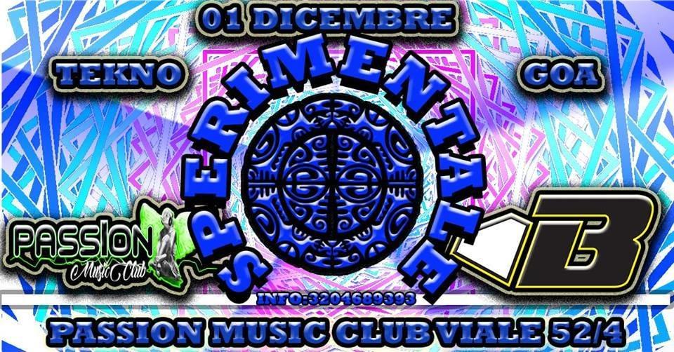 SPERIMENTALE TEKINO GOA 1 Dec '18, 22:00