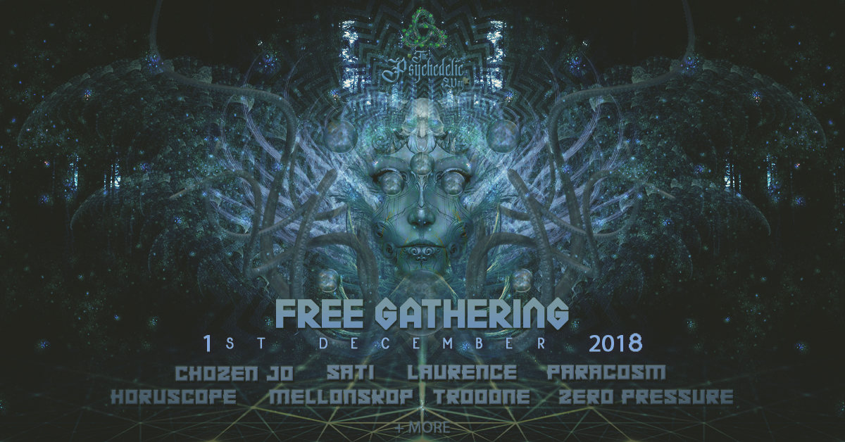 The Psychedelic Way Free Gathering 1 Dec '18, 22:00