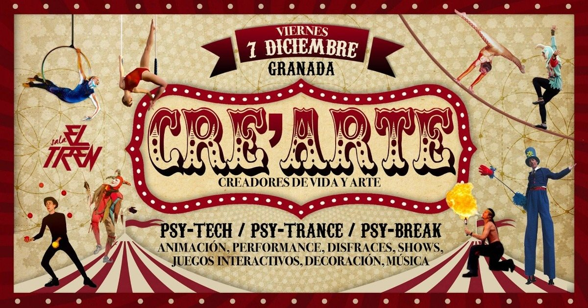 Cre'Arte 7 Dec '18, 23:30