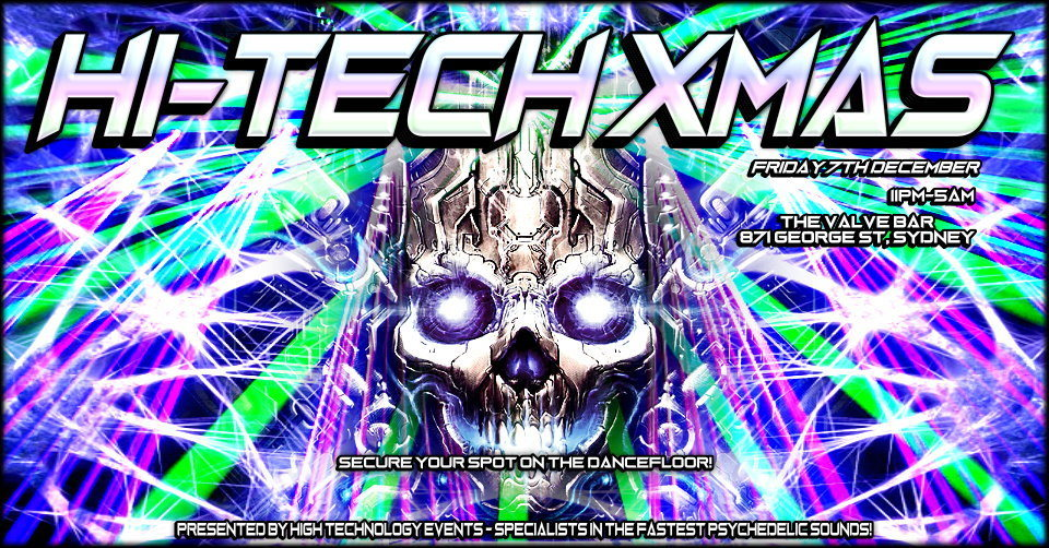 Hi Tech Xmas 7 Dec '18, 23:00