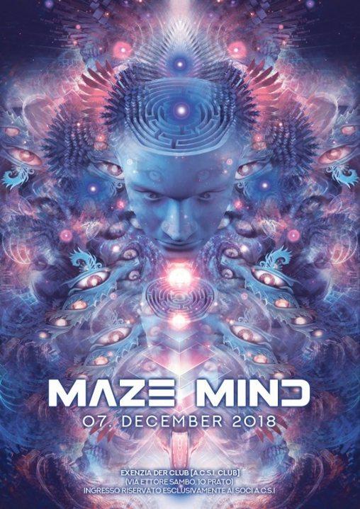 ╰დ╮ MAZE MIND 2.0 ╭დ╯ + AFTER 7 Dec '18, 22:30