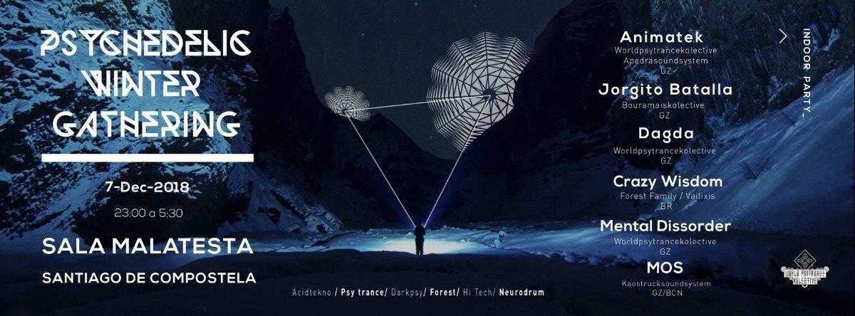Psychedelic Winter Gathering 7 Dec '18, 23:00