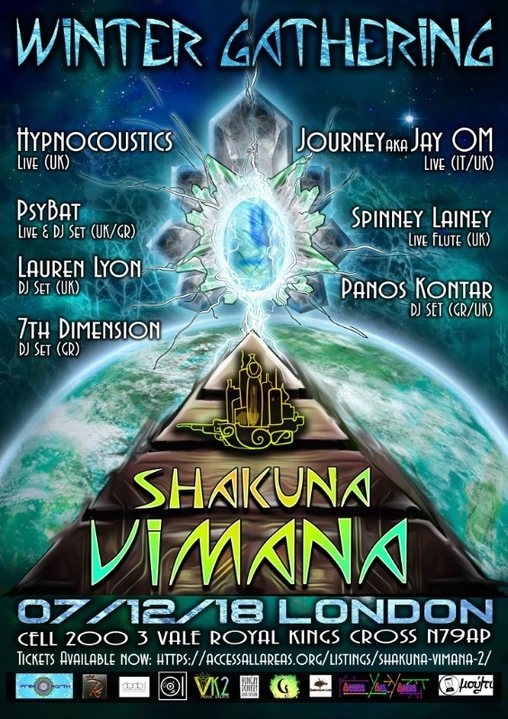 Shakuna Vimana *Winter* Gathering 7 Dec '18, 22:30