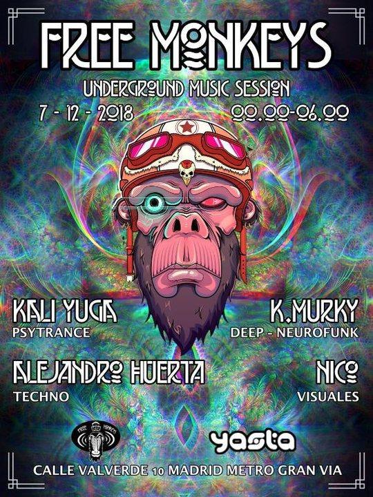 Underground Music Session 7 Dec '18, 23:30