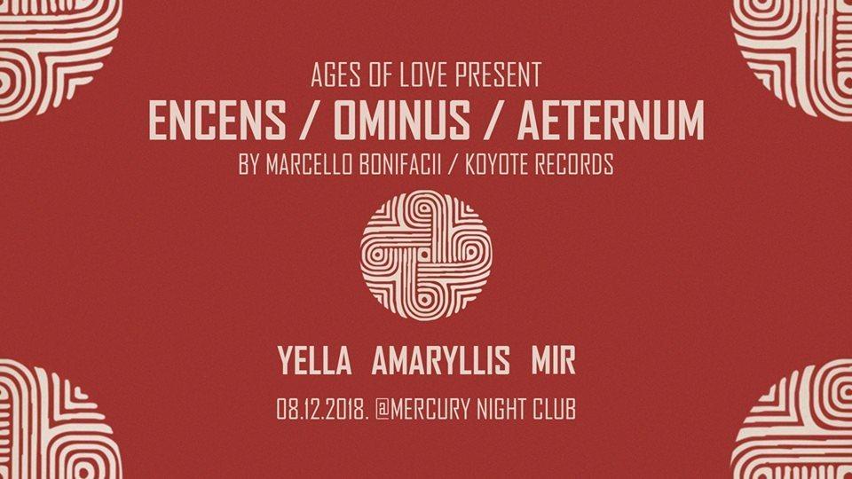 Encens / Ominus / Aeternum (UK) Live 1st time in Serbia! 8 Dec '18, 23:00