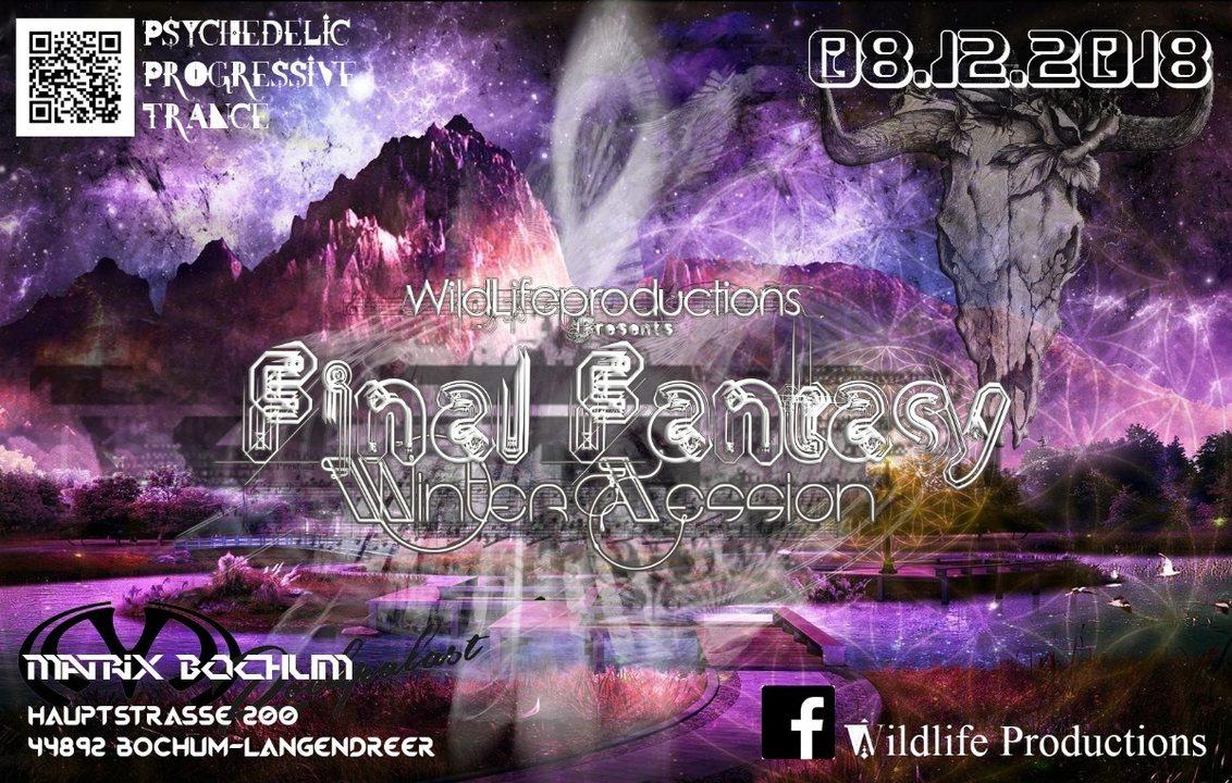 Final Fantasy Wintersession w. VerticalMode Volcano uvm. 8 Dec '18, 22:00