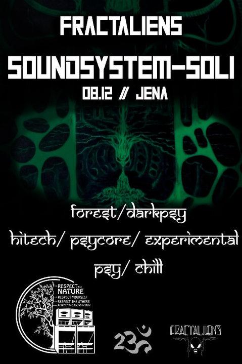FractAliens Soundsystem Soli 8 Dec '18, 20:00