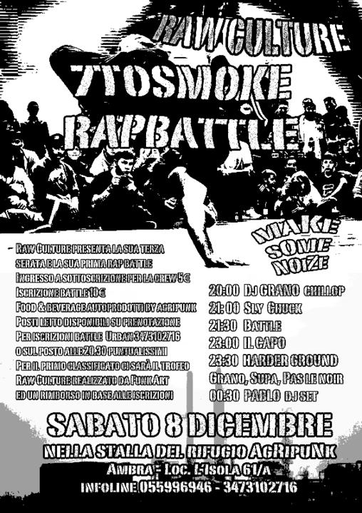 Raw Culture & 7 To Smoke Rap Battle 8 Dec '18, 20:00