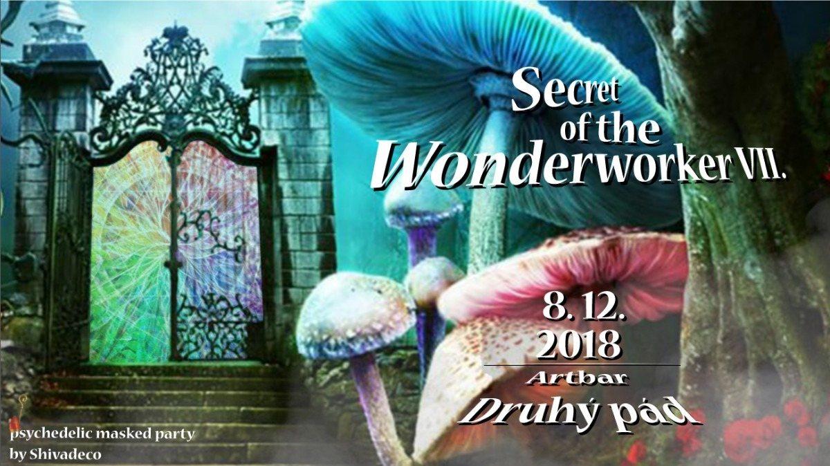 Secret of the Wonderworker VII. - psychedelic masked party 8 Dec '18, 21:00