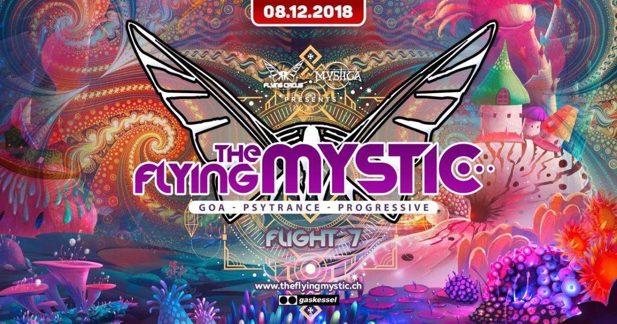 THE FLYING MYSTIC - Flight 7 - 8 Dec '18, 22:00