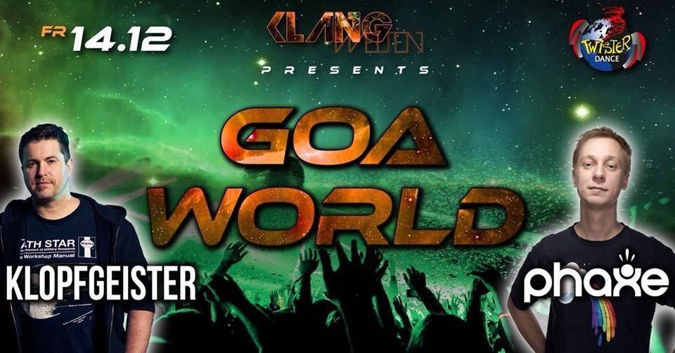 Goa World Festival/ 4 Floors/ Phaxe live/ Klopfgeister live 14 Dec '18, 22:00