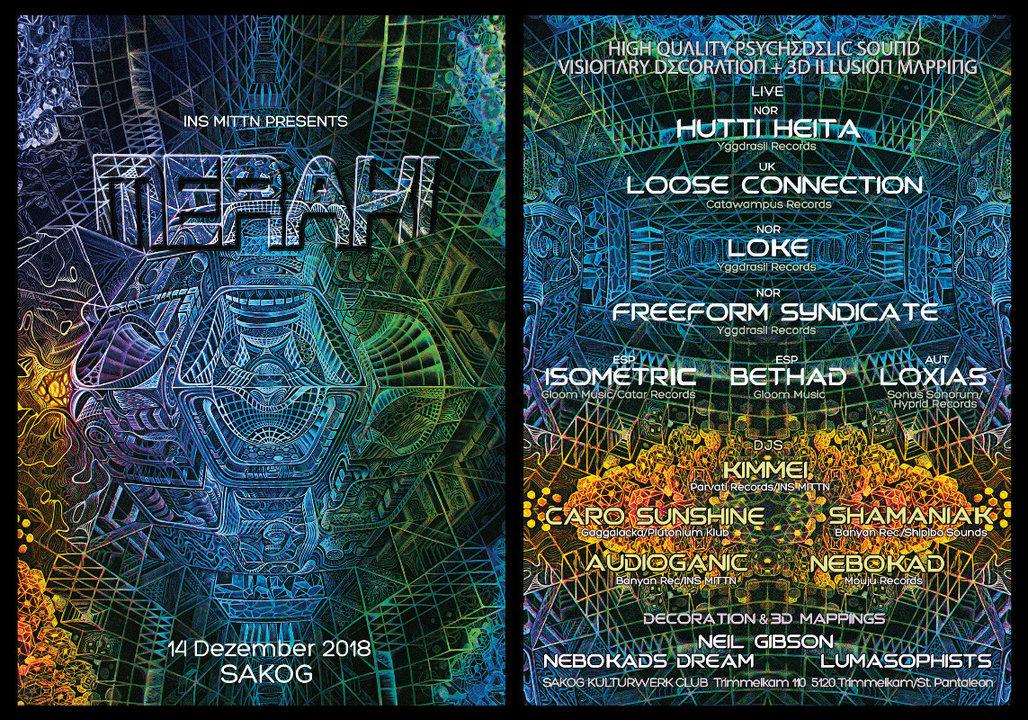 INS MITTN presents MERAKI 14 Dec '18, 22:00