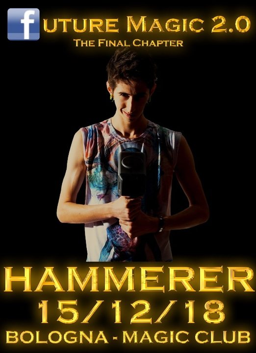 HAMMERER IN BOLOGNA 15 Dec '18, 22:00