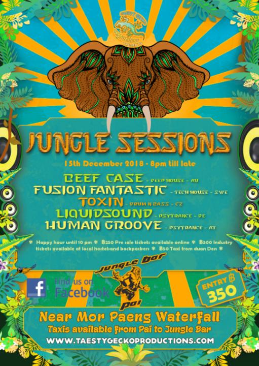 Jungle Sessions 15 Dec '18, 19:00