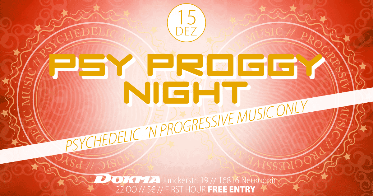 Psy Proggy Night 15 Dec '18, 22:00