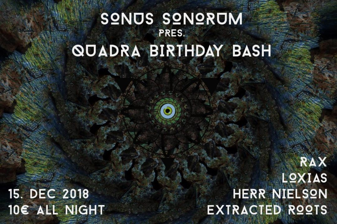 Sonus Sonorum Birthday Bash 15 Dec '18, 22:00
