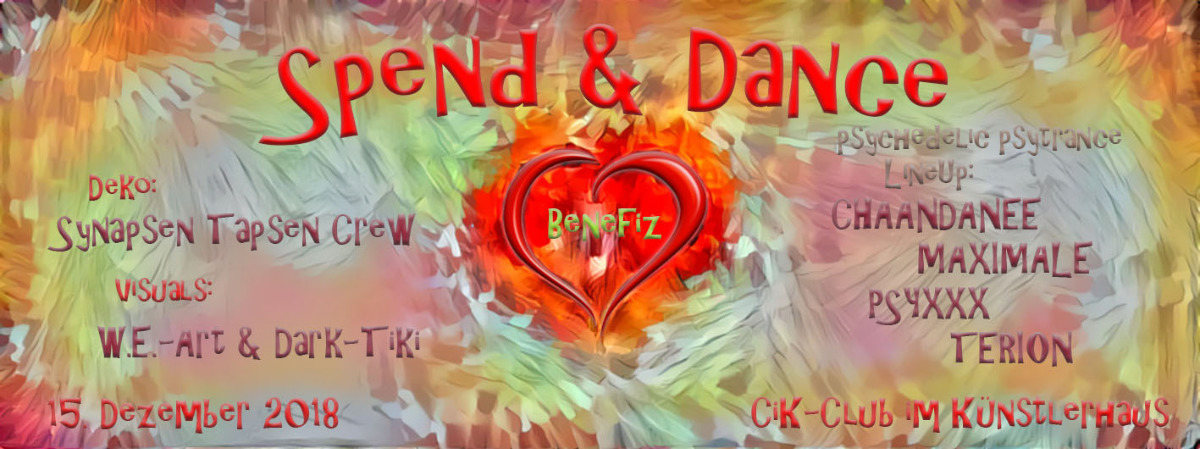 Spend & Dance 15 Dec '18, 22:00