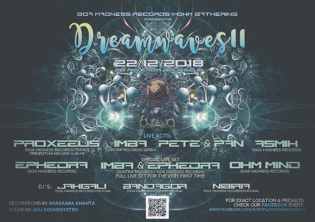 Dreamwaves II 22 Dec '18, 20:00