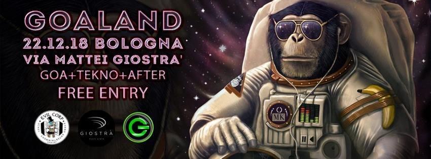 Goaland + After (Free Entry) Goa + Tekno 22 Dec '18, 23:00