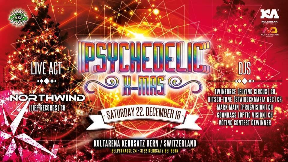 Psychedelic X-MAS 22 Dec '18, 21:00