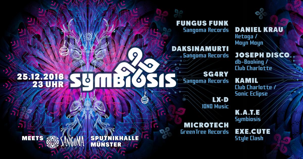 Symbiosis meets Sangoma Records 25 Dec '18, 23:00