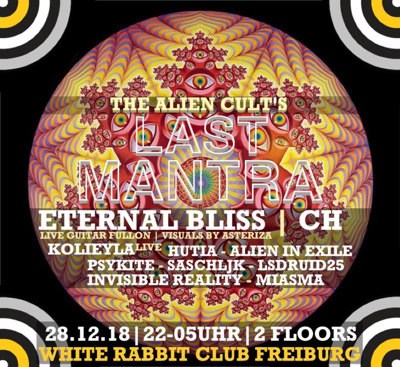 LASTxMANTRA | two floor psychedelic expirience 28 Dec '18, 22:00