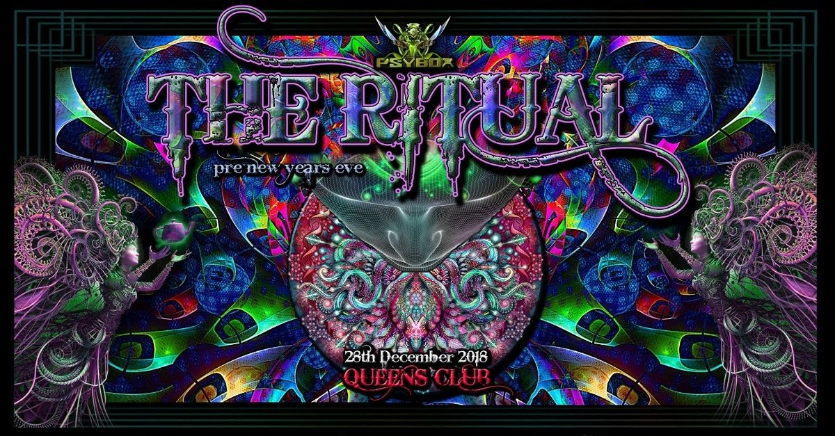 Psybox - The Ritual - Pre New Years Eve 2019 28 Dec '18, 22:00